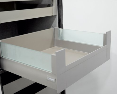 Facia Drawer with Crystal H 135