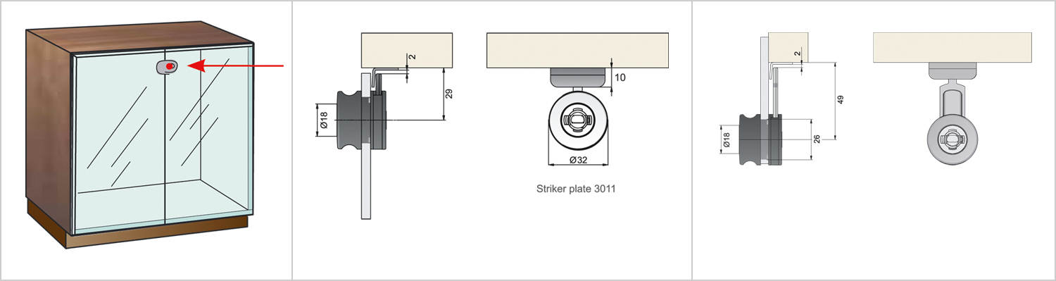 Glass Door Lock 321-main